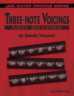 Three-note Voicings and Beyond by Randy Vincent | Sher Music Co